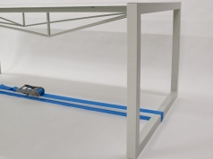#177 Stretched steel table, 1mm thick table