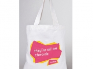 Khama and That Big Event in London, Tote Bags