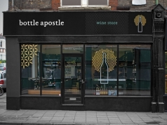 Bottle Apostle, Crouch End Store Fascia Design