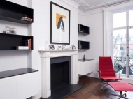 High Gloss Alcove Units, Bespoke AV Storage