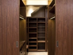 Walnut Wardrobes, Private Residence - Sloane Square