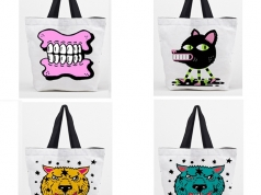 Street Art Bags, Collaboration with local Hackney Street Artists