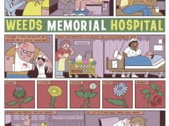 Weeds Memorial Hospital, Cartoon