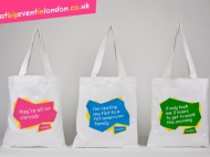 That Big Event in London, Reality check Souvenir Bags