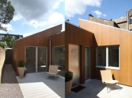 New house completed in West London, Compact Eco House