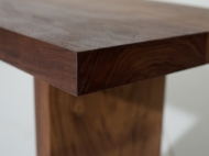 Walnut Bench, Bespoke Office Furniture