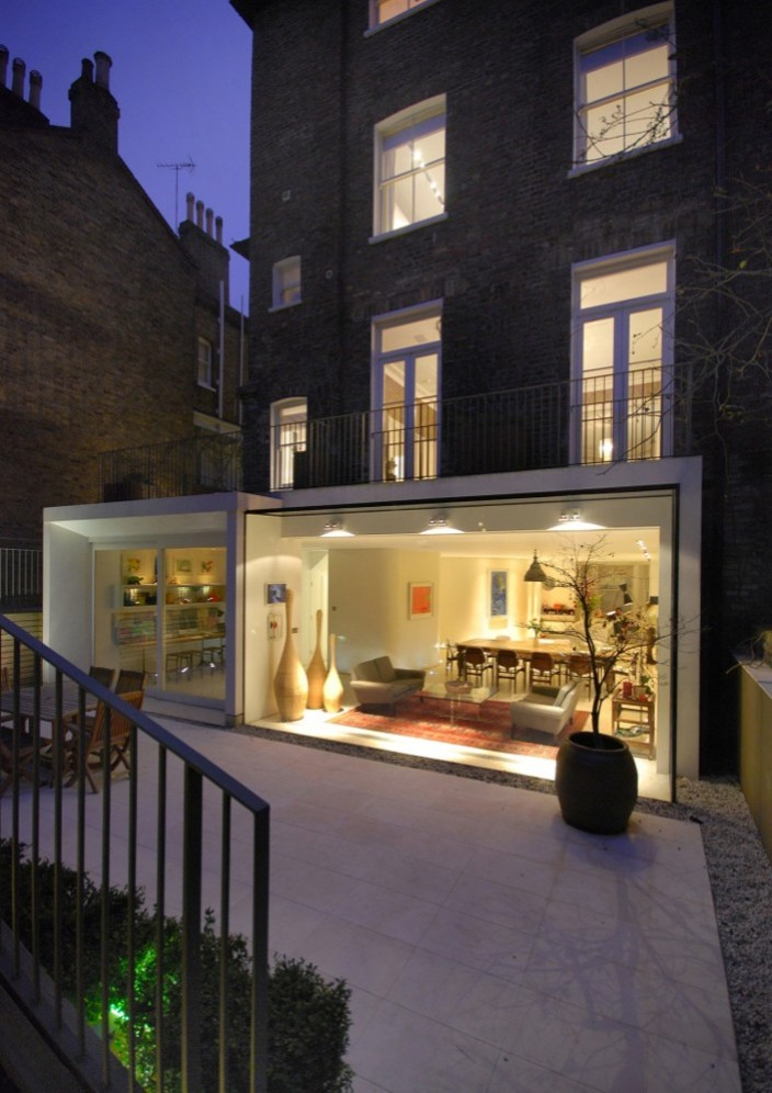 notting hill house modern refurbishment architecture